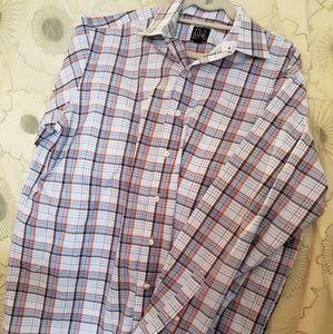 Mens Long Sleeve Shirt Jo's A Bank Sz L